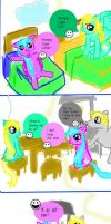 Pony Comic - Chapter 1 - Morning Page 1 by Krististina