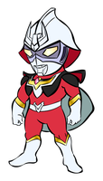 Ultraman Char by RiderB0y