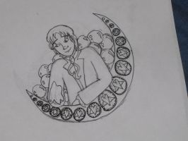 Mucha ABCs: Marius Sketch by RiderRRiddle