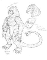 Concept Sketch- Kungoro by BehemothMaker
