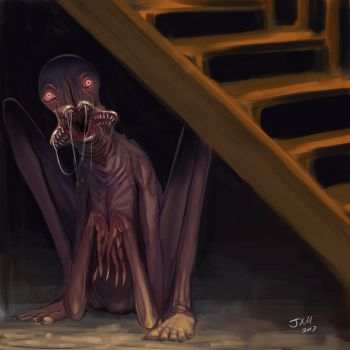 Living under your stairs?? by MackinX