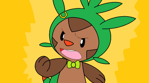 Joel the Chespin by PenelopeHamuChan
