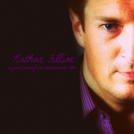 Nathan Fillion by bubblenubbins