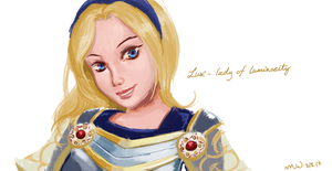 Lux- lady of luminosity by mythia20514