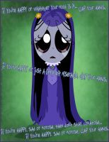 Ruby Gloom - Misery Poster by TehZee