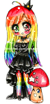 +Rainbow Princess Ambre+ by Lettelira