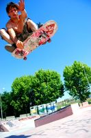 skater in the air- by def-ROCK-prinCESS