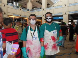 Metrocon 2014: Dr. Zed and Dr. Ned by SapphireAngelBunny