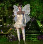 Nature loving fairy by pennys-designs