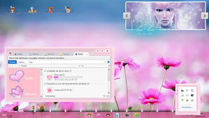 Tema rosa W8 by Lady Pink by TutosLadyPink