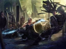 Shadowar, Astrid -  Relentless by TheFirstAngel