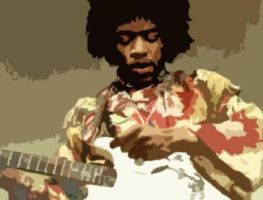 Jimi Hendrix by Live2Fight