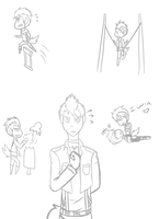 Zero sketches by Tess-Is-Epic