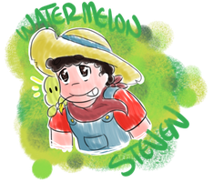 .:Watermelon Steven Sketchy:. by Artistic-Winds
