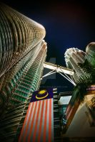 KLCC Twin Towers by phantastes