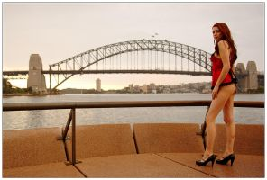 Kathryn - bridge red 4 by wildplaces