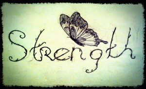 Strength Tattoo by BnWButterfly
