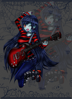 Marceline-The Vampire Queen Colored by Flying-Snow-Drops
