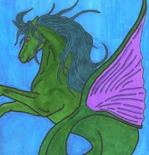 Hippocampus -Greek Myth