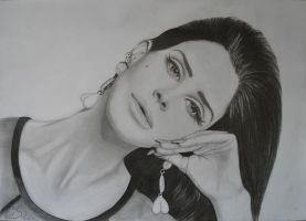 Lana del Rey finished by Liesjj