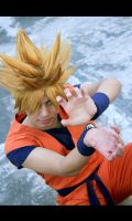 Super Saiyan Son Goku by jeffbedash325