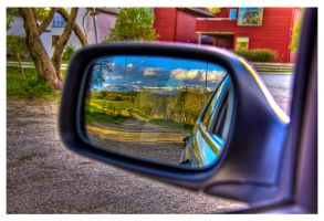 Landscape in the Mirror by Sapka