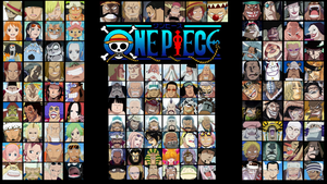 One Piece Character Wallpaper by sturmsoldat1