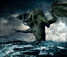 Cthulhu Comes... by Loneanimator