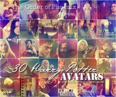 Harry Potter avatars 5 by chouette-e