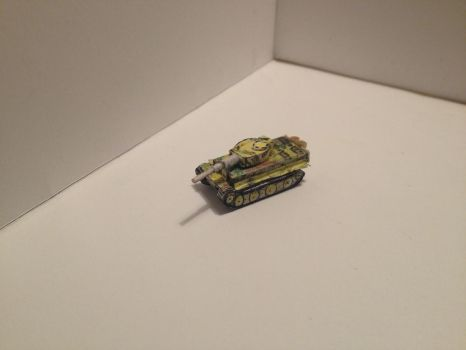 Tiger Tank papercraft by BigAngryCat