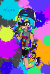Nami the Inkling by Soraply11