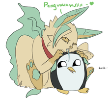 penguinsssss by Appletail