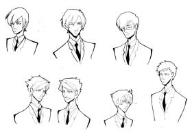 Ouran High School lineart by Glory-Day