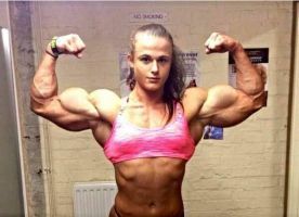 Georgina McConnell Muscled by Turbo99