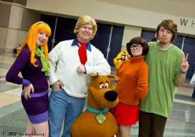 The Scooby-Doo Crew 1 by Insane-Pencil