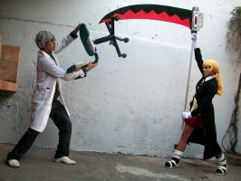 Soul Eater - Fight by Midorikawa-eMe111