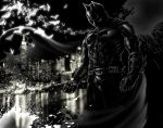 Batman (black and white) by choptider