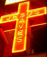 Jesus Saves by RuningWildInTheNight