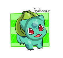Bulbasaur by SwEeTxPiNk96