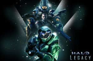 The Halo Legacy by sentryJ