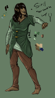 Elven Mage concept/reference by Sketchyeh