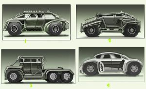 Military Vehicles quick sketches by spidermc