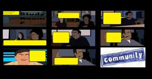 Create Your Own NBC Community Comic Strip by LamePie