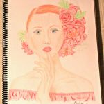 Lady In Red by 101dewdrop