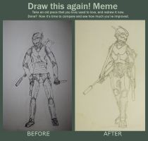 Draw This Again: ranger fanart by pantophage
