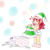 The Naughtiest Little Elf-ABDL by RFSwitched
