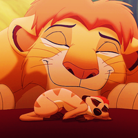 The Lion King - Simba and Timon by xdisney