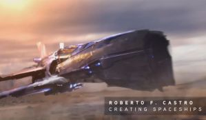 Tutorial -Creating Spaceships- by Roberto F Castro by atomhawk
