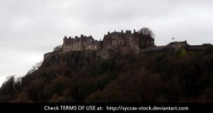 Stirling Castle 2 by syccas-stock