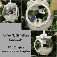 Custom MLP Ornaments for sale - Shining Armor by DragonwolfRooke